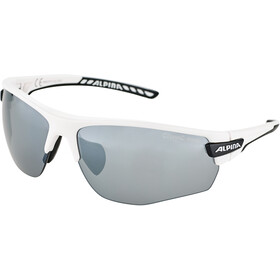 Alpina Tri-Scray 2.0 HR Gafas, white matt-black/black mirror